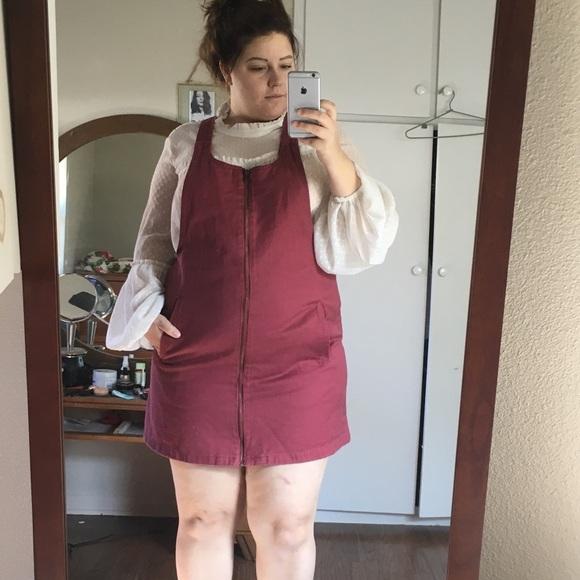 e209f00d1ca NWT Plus Size Overall Dress!
